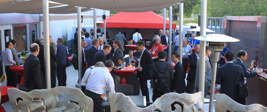 Dinner conference mingle 2015
