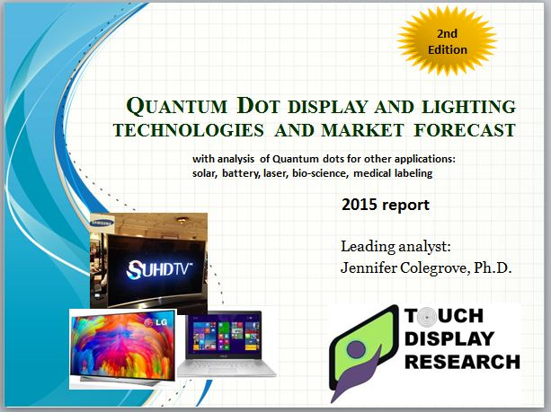 QD report 2015 cover