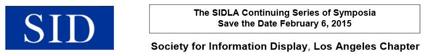SID LA symposium 2015
