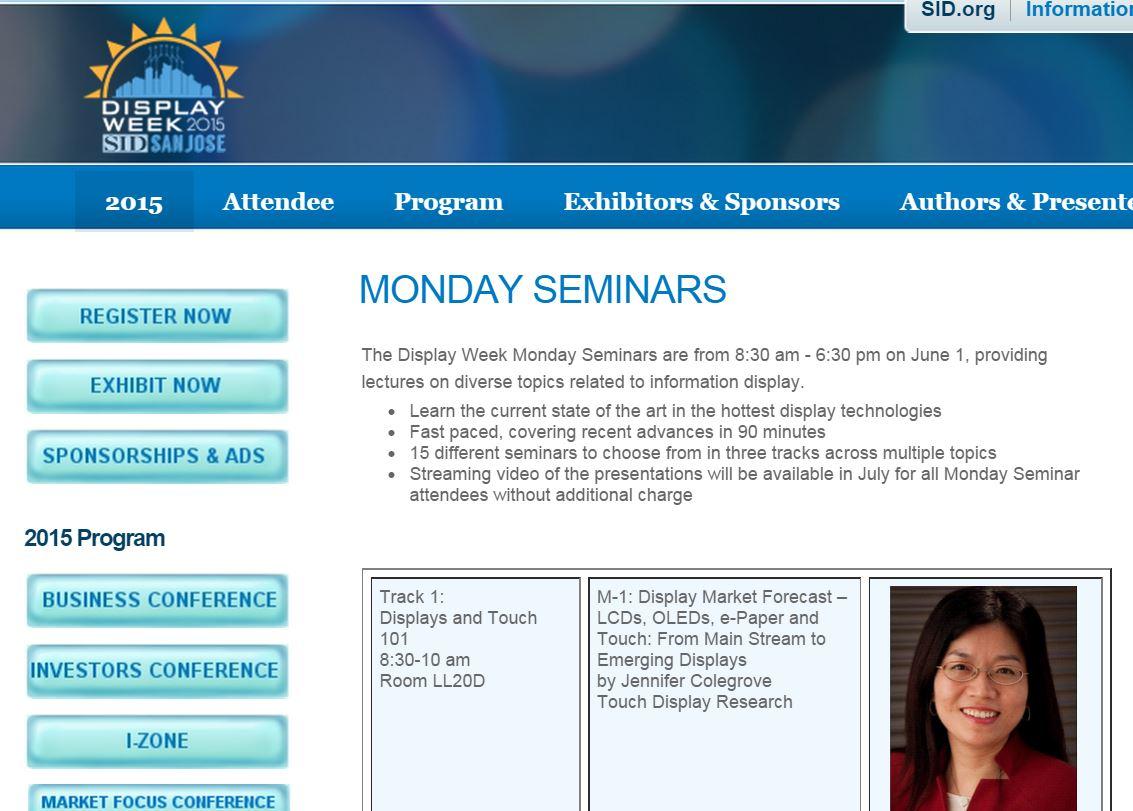 SID Monday seminar
