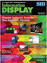 Information Display June 14 cover