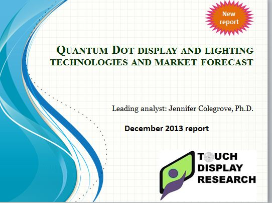 quantum dot report cover
