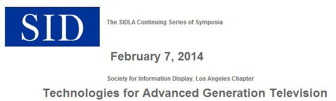 SID LA symposium