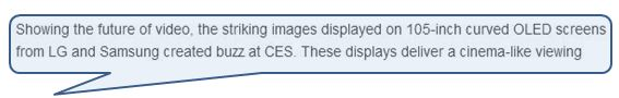 CEA wrong about 105 curved OLED deco