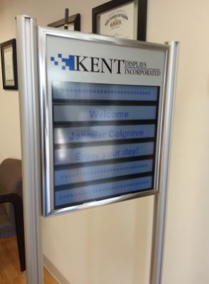 Kent Display welcome Jennifer
