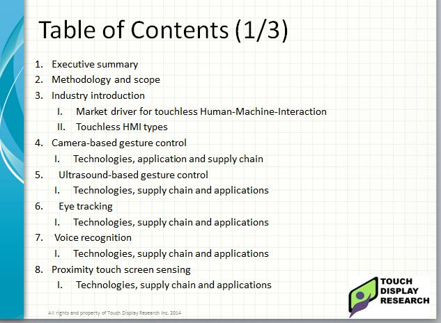touchless TOC1