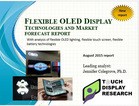 Flexible OLED 2015 report cover