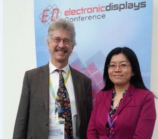 Jenny eDC 2016 with professor blankenbach small