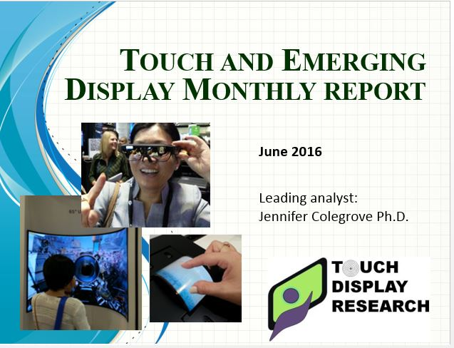 Touch and emerging cover 2016 June